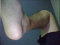 straight guy feet webcam 12