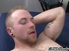 Gay penis investigation Cole Gartner Fucks Tommy White