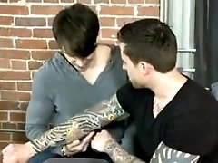 Hot Tattoo Guy Fucks Hot Twink
