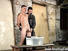 Long hairy muscle sexy men gay porn videos Poor Leo can't escape as the
