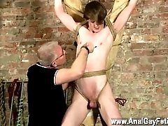 Gay man sexy porn video hairy uniform Another Sensitive Cock Drained