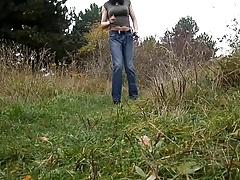 sandralein33 Smocking in Hot Jeans