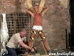 Man hairy gay photo Slave Boy Made To Squirt