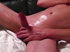 Soft Belly Hard Cock and Navel Cum Pool
