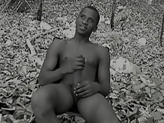 Latino twink solo jerking-off