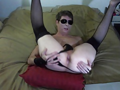 Sexy Logan Shows Off Talking Dirty