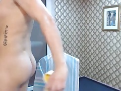 Beautiful Romanian Boy Cums, Big Fat Cock On Cam
