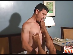 Foot fun with cutest little Asian twink you have ever seen