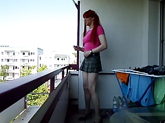 sandralein33 smoking Little Redheat Shool Girl