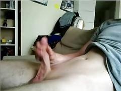 Cute German Boy With Big Cock, Sexy Big Ass On Doggie On Cam