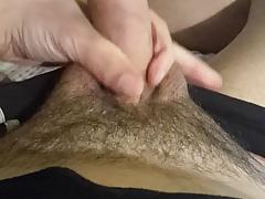 wanking my hard cock