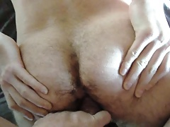 German daddy fuck hairy twink hole