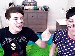 Gay Twink get Spanked!