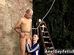 Pics of male gay sex slaves Drained Of Cum Through