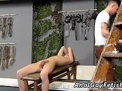 Bondage haircut gay Adam is a real professional when it comes to