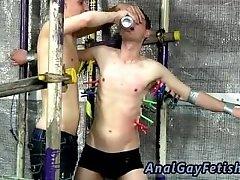 Cartoon boys in bondage gay Feeding Aiden A 9 Inch Cock