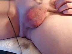 Shaving my balls and ass bum hole