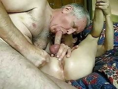 Femboy Tommy first anal submission training