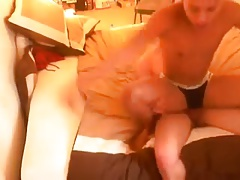 sisters Boyfriend Takes her Cute brothers Ass.