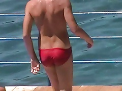 Let's spy next door Italian males in speedos x70p (2)