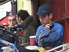 Biker Boy British Young Lads Threesome