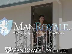 Manroyale Yard exercise gets guys horny for fucking