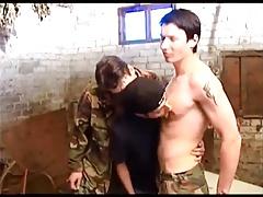 Three Army Boys