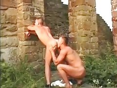 Hot Threesome Outdoor