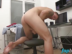 Sexy Nick Daniels seduces John Parker into a hot gay sex