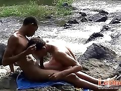 Latin nude swimmers switch to oral sixty-nine