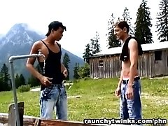 Twinks Country Teenagers Outdoor Barn Gay Sex