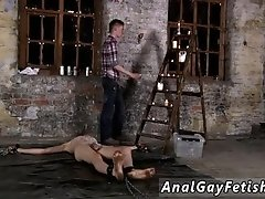 Gay twink bondage cartoons Chained to the warehouse floor and unable to