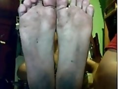 straight guy feet webcam 24