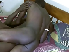 Black Twinks Emma and Mark Bareback