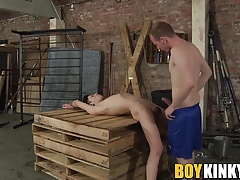 Xavier getting his mouth drilled by master Sean Taylor