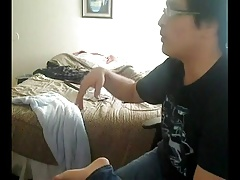 Gay Nerdy Roommate Sucking And Getting Fucked