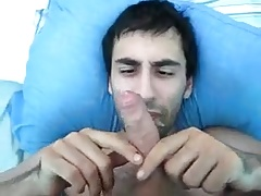 Painting his fucking face with cum 23