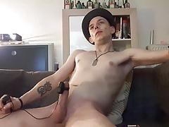 elecro cockring cum