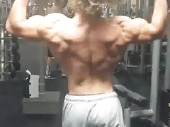 show muscles