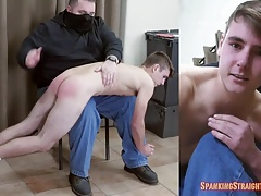 18! Parker's First Spanking