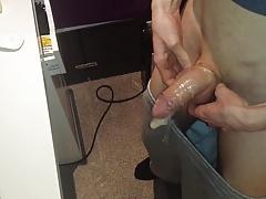 Skinny Teen Reused Condom Plus Cum Shot