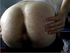 26yo Australian Str8 Boy Shows His Bubble Hairy Ass On Doggy