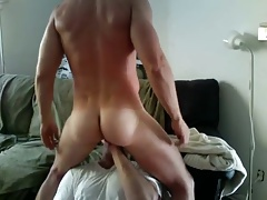 Getting balls licked then squirt all over his fucking face