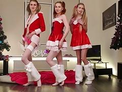 three skinny beauties Ivanka Twinkle Alisekis