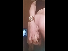 hot 18yo twink riding on a dildo