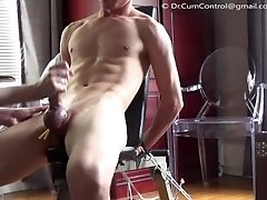 Big Dick Twink gets edged by Dr. CumControl