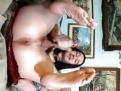 Gay twink amateur cumshot
