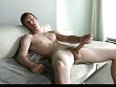 Dildo Play With Big Cock Twink