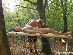 Outdoor Oral Sex Massage