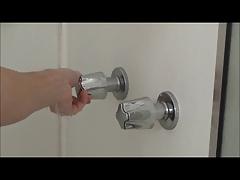 Amateur Teenboy in shower